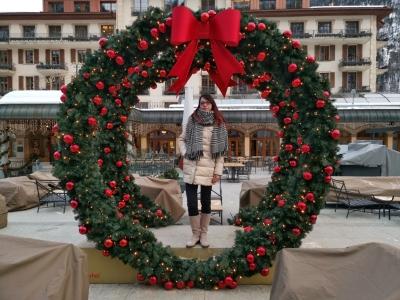 Alex im Weihnachtskranz