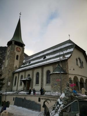 Kirche Zermatt
