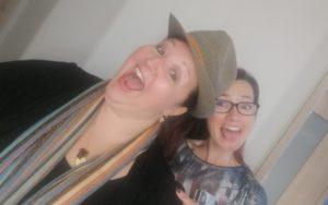 Selfie von Pamela und Alex im Hotel