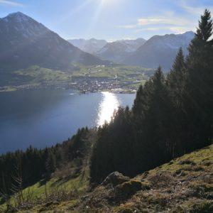 Blick nach Buochs von Ennetbürgen