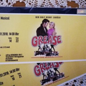 Tickets Grease