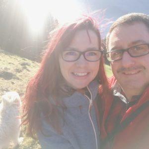 Selfie Alexandra und Mario auf Mattgratt