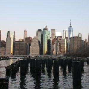 Blick vom Granite Prospect auf Manhattan