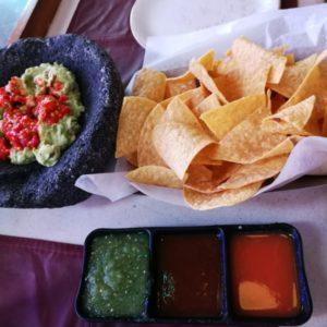 Tortillas mit Guacamole