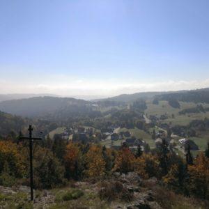 Blick von Kapelle auf Wittenschwand
