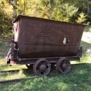 Wagen aus Eisen für Bergwerk