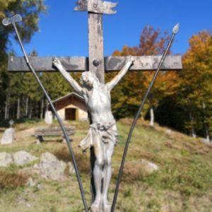 Jesuskreuz aus Holz