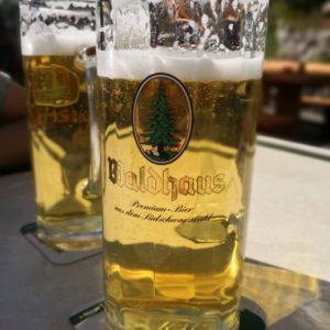 Bierglas 3/4 gefüllt