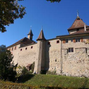 Aussenmauer Schloss Kyburg