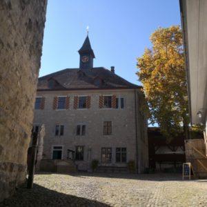 Blick in den Innenhof der Kyburg