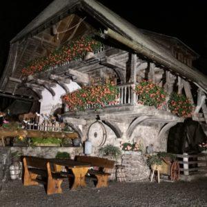 Mühlenmuseum bei Nacht