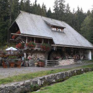 Mühlenmuseum mit Wasserrad